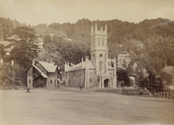 Simla Church, 1885
